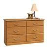 Sauder Orchard Hills Carolina Oak 6-Drawer Dresser