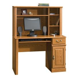 Shop Sauder Orchard Hills Carolina Oak Computer Desk At