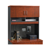 Sauder Via Classic Cherry/Soft Black File Cabinet