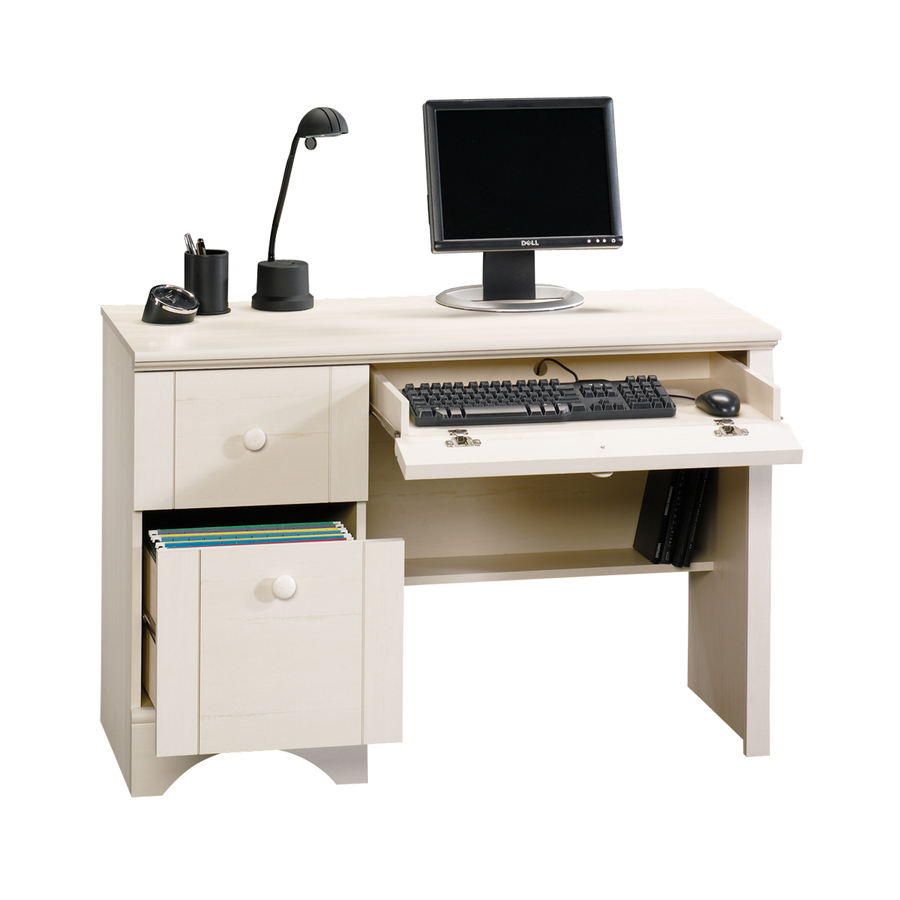 White Computer Desk Office Home Study Dorm Bedroom