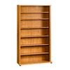 Sauder 55.5-in H x 32.5-in W x 9.5-in D 7-Tier Wood Freestanding Shelving Unit