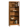 Sauder August Hill Oiled Oak 71.875-in 5-Shelf Bookcase