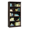 Sauder Jamocha Wood 69.75-in 5-Shelf Bookcase
