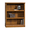 Sauder Abbey Oak 35.375-in W x 44.125-in H x 13.5-in D 3-Shelf Bookcase