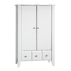 Sauder Shoal Creek Soft White Armoire