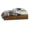 Sauder Shoal Creek Oiled Oak Twin Bedframe with Storage