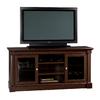 Sauder Palladia Select Cherry Rectangular Pedestal Television Stand