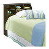 Sauder Shoal Creek Jamocha Wood Twin Headboard