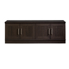 Sauder Home Plus Espresso 2-Shelf Storage Cabinet