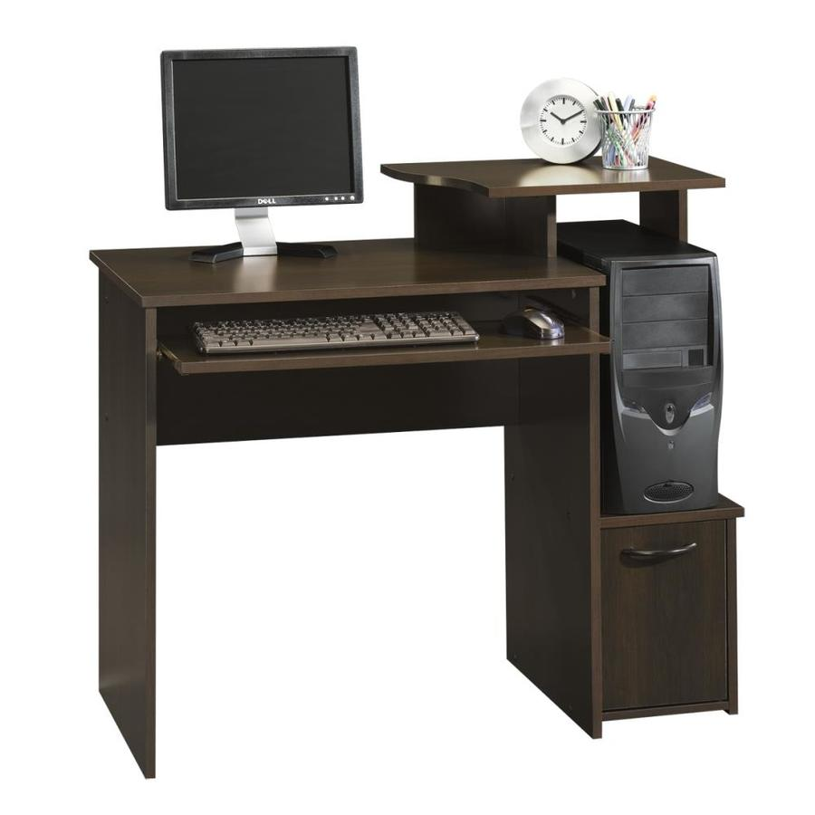 Shop sauder beginnings cinnamon cherry computer desk at - Computer stands at walmart ...
