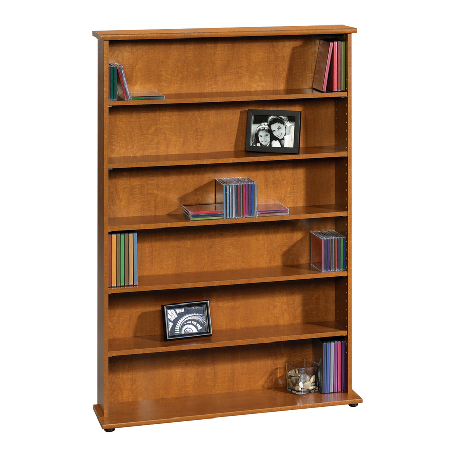 Shop Sauder Graham Hill Autumn Maple 6Shelf Office