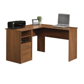 Sauder Camber Hill Sand Pear L shaped Desk