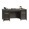 Sauder Edge Water Estate Black Executive Desk