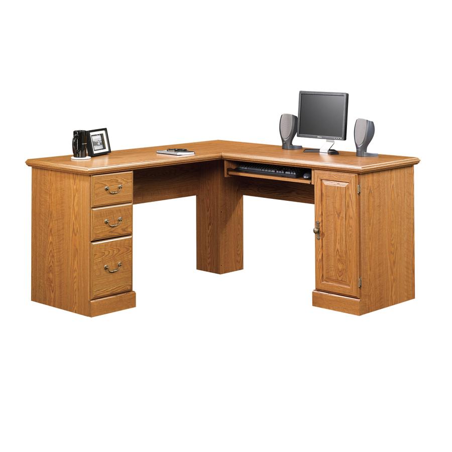 Shop Sauder Orchard Hills Carolina Oak Computer Desk at Lowes.com