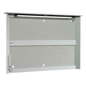 Sauder Wood Pegboard (Actual: 60.38-in x 41.63-in)