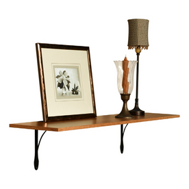 Sauder Oak Shelf