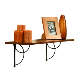 Sauder Cornerstone Cherry Shelf