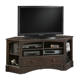 Sauder Harbor View Antiqued Paint Television Stand 402902