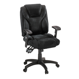 Sauder Black Microsuede Task Office Chair