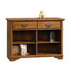 Sauder Harvest Mill Abbey Oak 31-in 4-Shelf Bookcase
