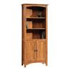Sauder Rose Valley Abbey Oak 70.375-in 5-Shelf Bookcase