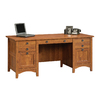 Sauder Rose Valley Abbey Oak Executive Desk