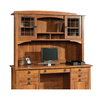 Sauder Rose Valley Abbey Oak Credenza Desk