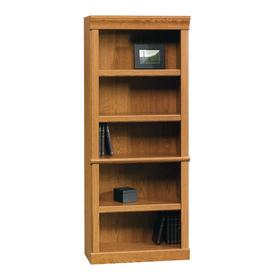 Sauder Orchard Hills Carolina Oak 71.5-in 5-Shelf Bookcase