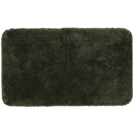 Mohawk Home Regency 40-in x 24-in Green Nylon Bath Mat