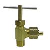 Watts 1/4-in Brass Compression In-Line Angle Valve