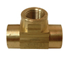 Watts .25 Tee Brass Pipe Fitting