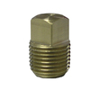 Watts .25 Plug Brass Pipe Fitting