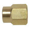 Watts 1/2-in x 3/8 Union Brass Pipe Fitting