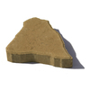 allen + roth Fulton 12-in W x 10-in L Ancient Tan Concrete Canyon Patio Stone (Actuals 12.2-in W x 10.2-in L)
