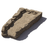 allen + roth Sandy Creek Concrete Splash Block