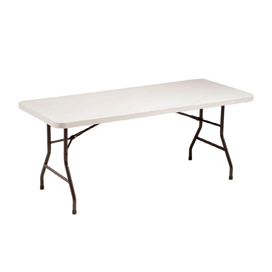 lowes folding table  shop style selections 6 u0026 39  rectangular