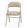Style Selections Indoor Steel Buff Finish Standard Folding Chair