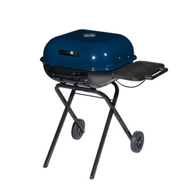 Aussie Walk-A-Bout Midnight Blue Charcoal Grill
