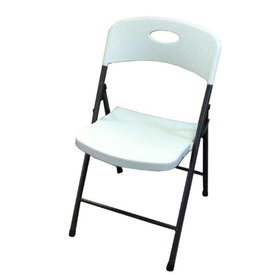 Style Selections Indoor/Outdoor Steel Painted Standard Folding Chair