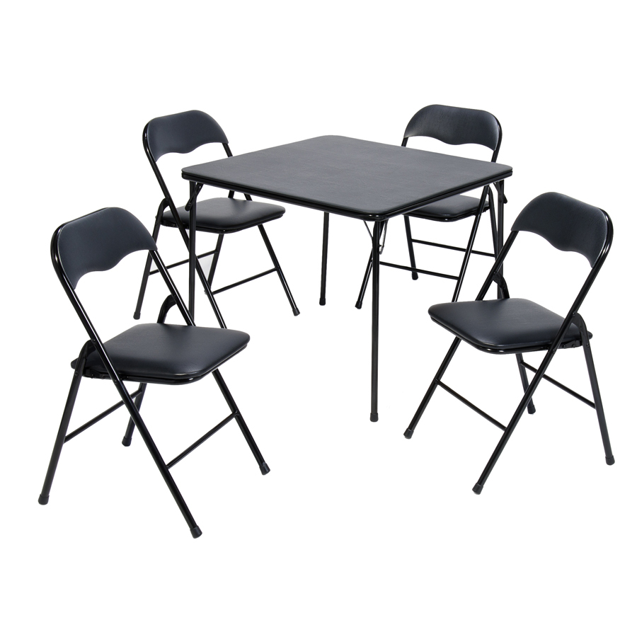 Lowes Folding Table And Chairs Suddencomfort 34 In X Square Steel