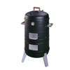 Southern Country 37-in H x 21.5-in W 351-sq in Satin Black Charcoal Vertical Smoker