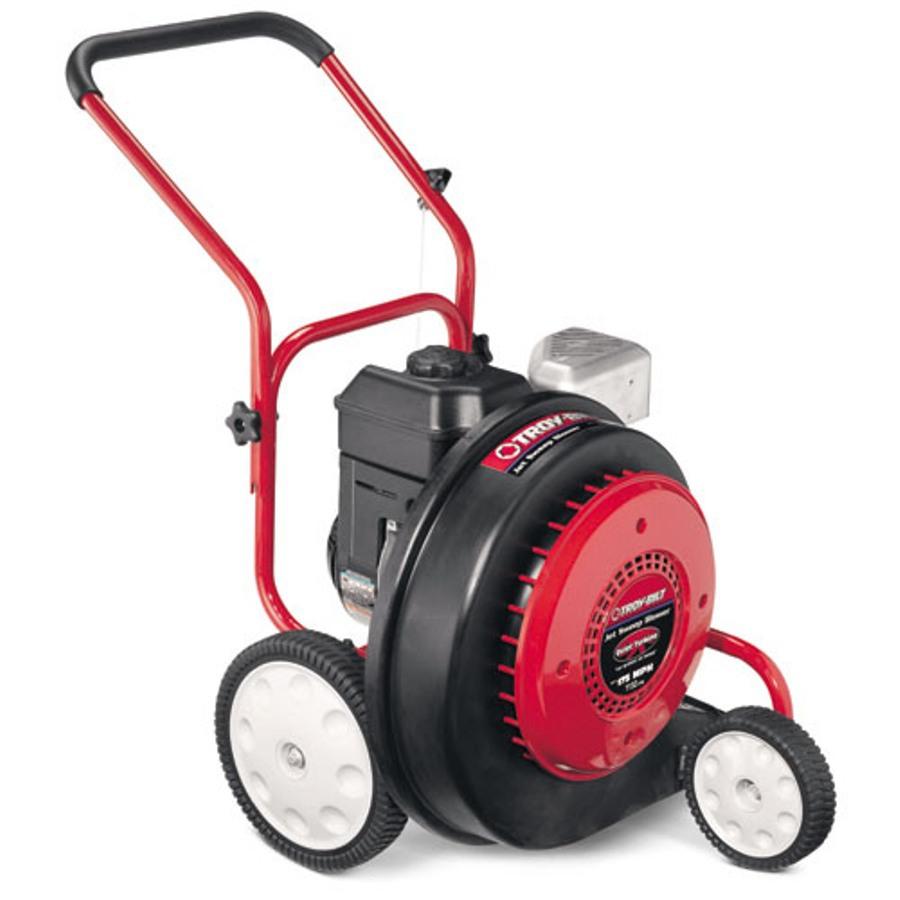 Heavy Duty Blower : Shop troy bilt cc cycle heavy duty walk behind gas