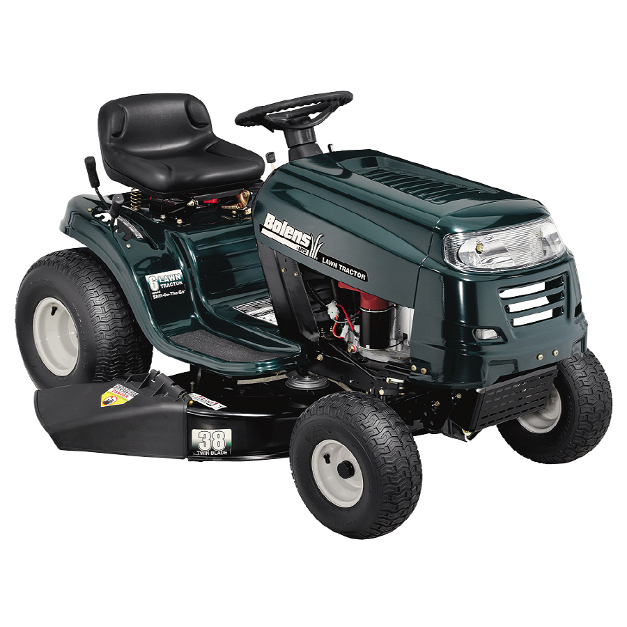 how to start a briggs and stratton riding lawn mower