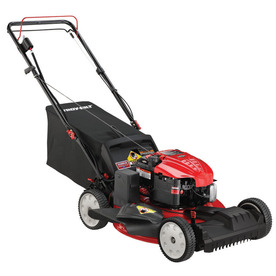 Troy-Bilt 190-cc 21-in Key Start Self-Propelled Front Wheel Drive 3 in 1 Gas Push Lawn Mower with Briggs & Stratton Engine and Mulching Capability