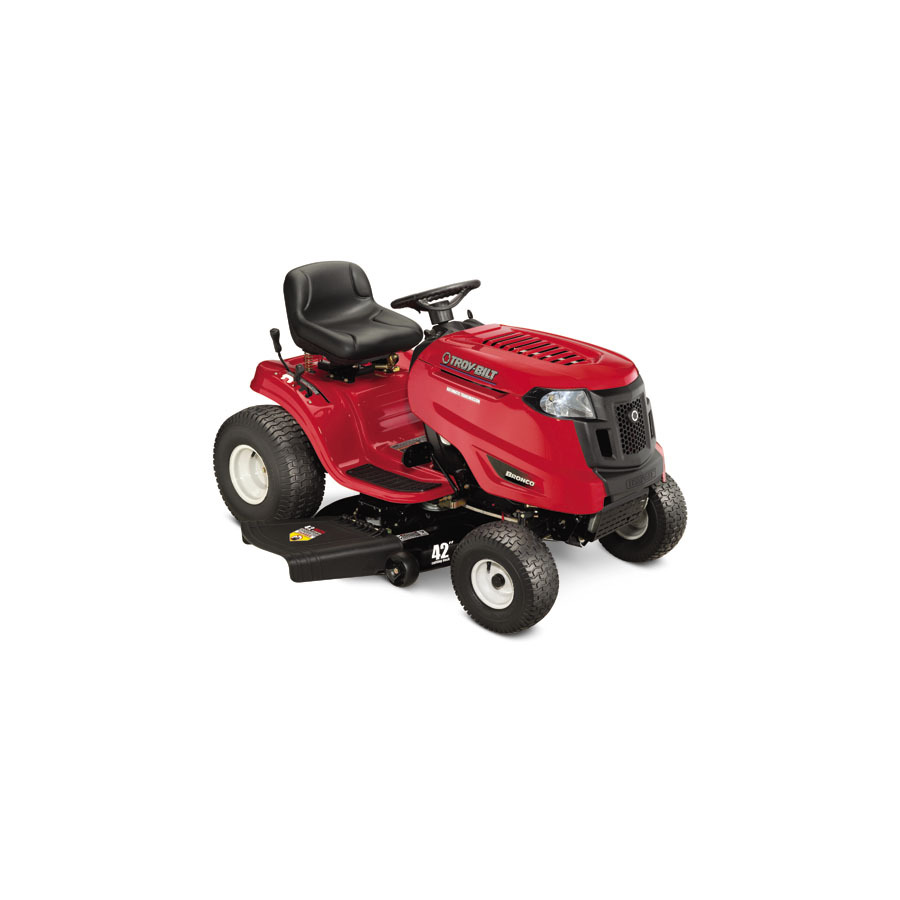 Shop Troy Bilt Bronco 20 Hp Automatic 42 In Riding Lawn