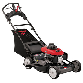 Troy-Bilt 160-cc 21-in Self-Propelled Rear Wheel Drive 3 in 1 Gas Push Lawn Mower with Honda Engine and Mulching Capability 12AI832Q711