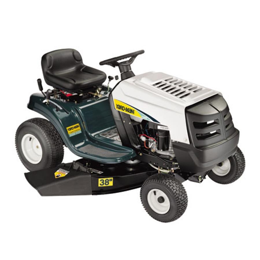Yard Man 12 5 Hp Manual Gear 38 In Riding Lawn Mower With