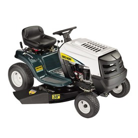 Yard-Man 12.5-HP Manual/Gear 38-in Riding Lawn Mower with Briggs & Stratton Engine