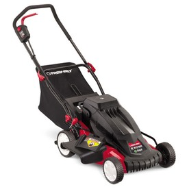 Troy-Bilt TB E25 24-Volt 19-in Cordless Electric Push Lawn Mower