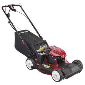 Troy-Bilt 190-cc 21-in Key Start Self-Propelled Front Wheel Drive 3 in 1 Gas Push Lawn Mower with Briggs & Stratton Engine